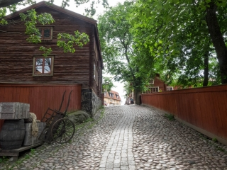 Skansen Stockholm Schweden